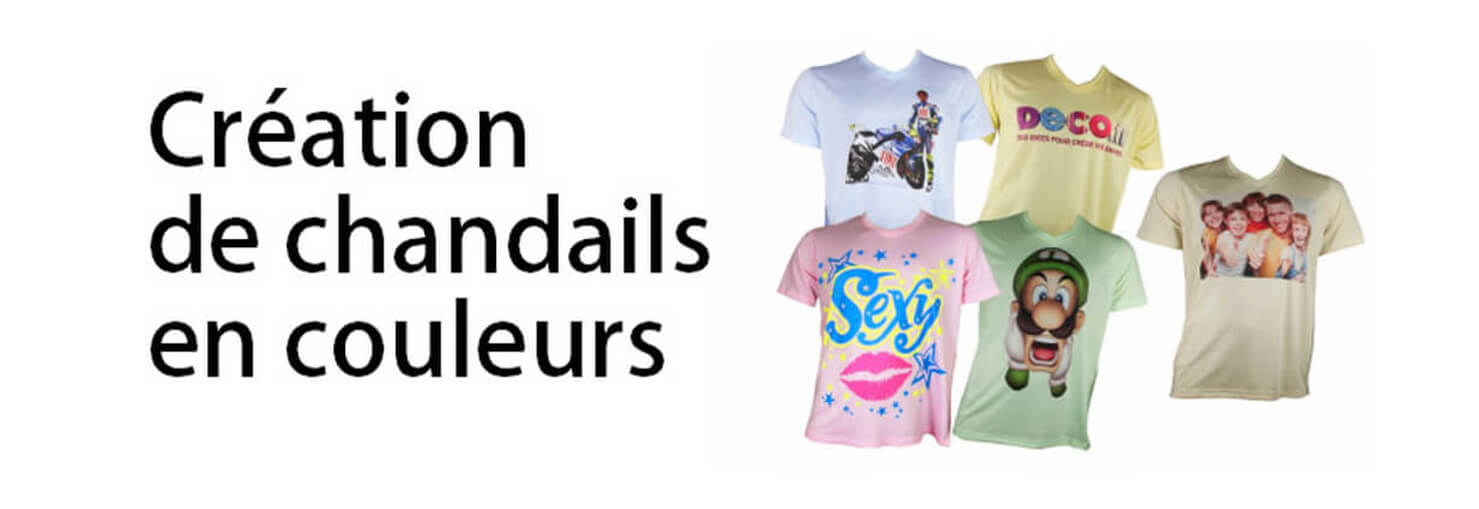 Sublimation:Creer des chandails en couleurs