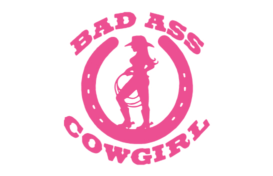 Bad ass cowgirl