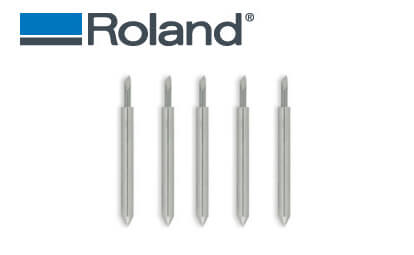 5 high quality blades (45 degrees) for SignMAX, Redsail, GCC & Roland vinyl cutters