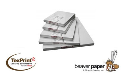 Papier de sublimation Beaver TexPrint