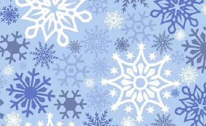 Siser EasyPatterns HTV -  Snowflakes - 1 Rouleau 12 Po x 10 Vg