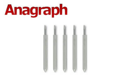 5 high quality blades (45 degrees) for Anagraph & PD (APD) vinyl cutters